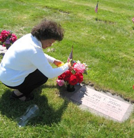 Jose T. Joson buried in Oregon, USA