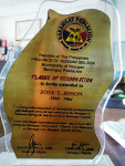 Bayugan Plaque of Recognition