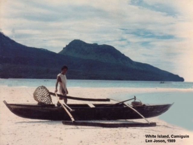 White Island off Camiguin Island