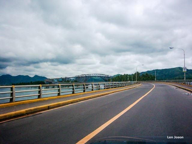 As I was driving, I took this shot of San Juanico Bridge back in June 2004.