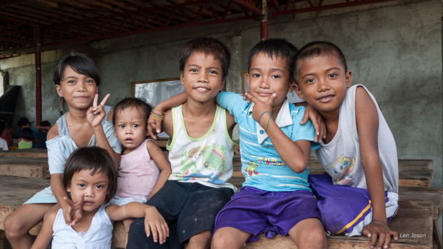 typhoon yolanda kids