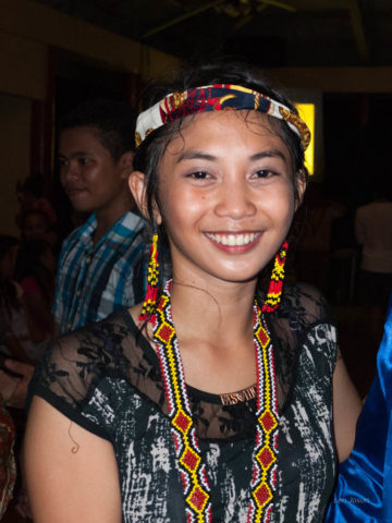 The costume is from one of the tribes in Mindanao.